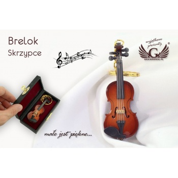 Brelok mini skrzypce - BP30