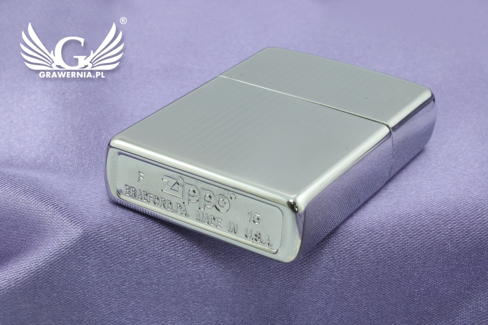 Zapalniczka ZIPPO Engine Turned High Polish Chrome