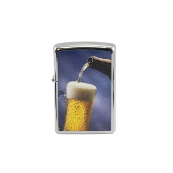 Zapalniczka Zippo Kufel Piwa High Polish Chrome - ZIP019