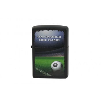 Zapalniczka Zippo One World One Game Black Matte - ZIP018