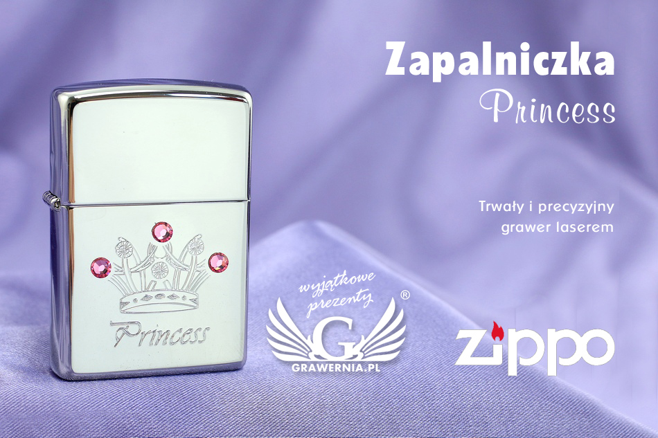 Zapalniczka ZIPPO Princess High Polish Chrome